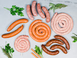 Heritage Foods | Pasture Raised and Antibiotic Free | Heritage Breed Sausages