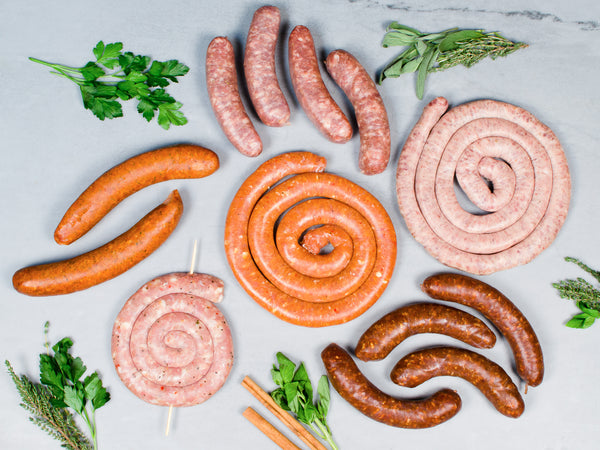 SAUSAGE OF THE MONTH CLUB, Three packs of sausage — Receive a new style each month!