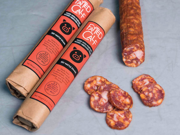 Heritage Foods | Pasture Raised and Antibiotic Free | Red Wattle Salami