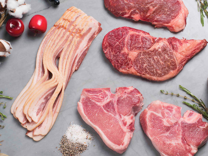 Steaks, Pork Chops and Bacon | Heritage Foods | Pasture Raised and Antibiotic Free