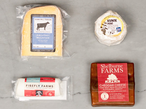 HERITAGE VICTORY CHEESE BOX — our favorite domestically produced cheeses for pairing with Heritage meats — 4 individually wrapped cheeses, 1.4lb total — with 100% of profits donated to the NAACP!