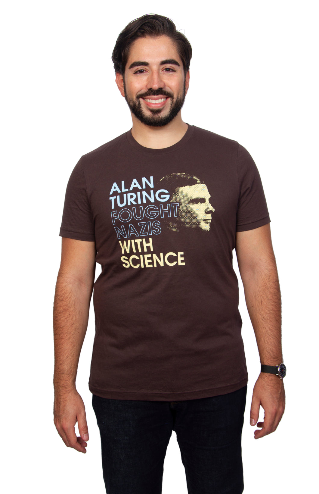 Alan Turing Fought Nazis With Science T-shirt