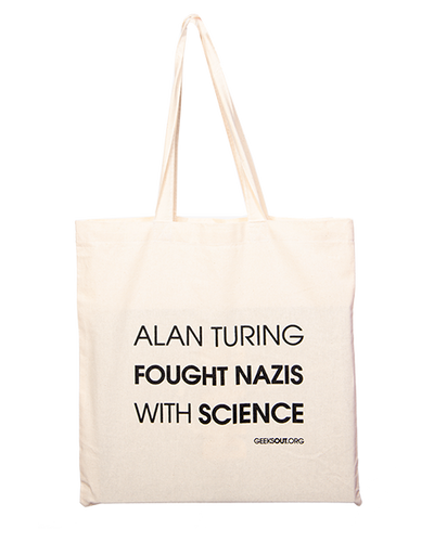 Alan Turning Fought Nazis with Science Tote