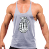 Grey Stringer Tank