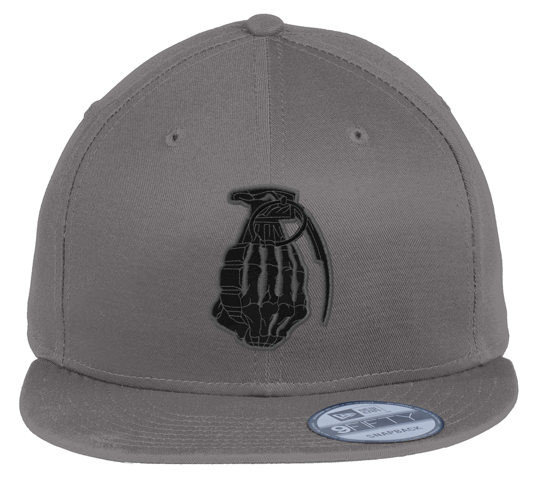 Grey Flat Bill with Black G logo