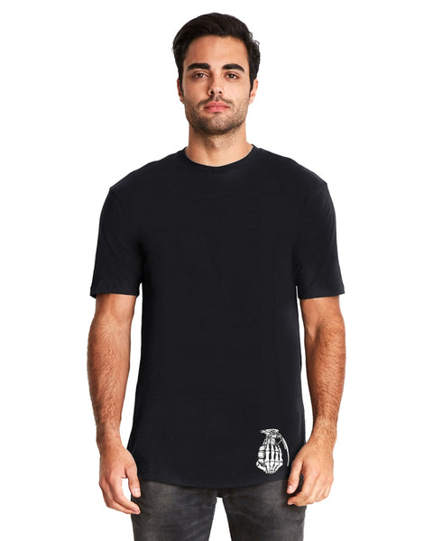Black Long Body with White logo