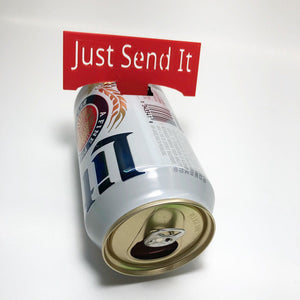 Customizable Shot Gun Beer Card
