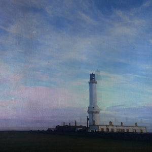 Girdle Ness Lighthouse Giclee Print