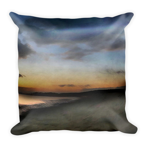 Scotstown Beach Square Pillow