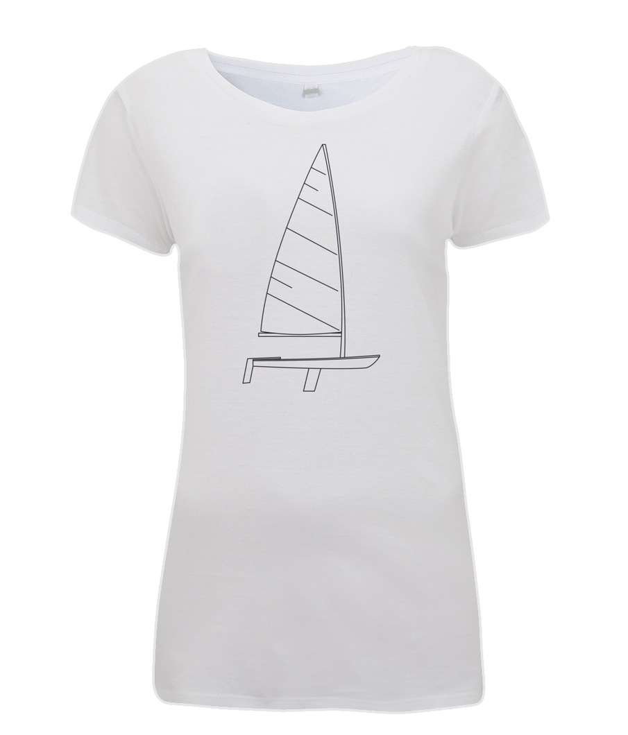 Ladies Plain Laser T-Shirt