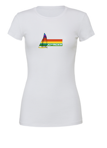 Rainbow 16 Ladies tshirt