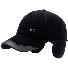 Cold Weather Baseball Cap with Folding Velvet Ear Protectors