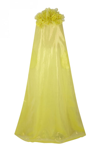 The 2nd Skin Co. Yellow Strapless Dress
