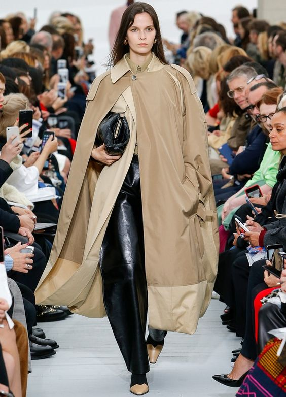 Trench Coats As Dresses 1