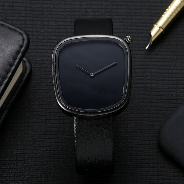 Unisex Pebble Shaped Minimalist Watch