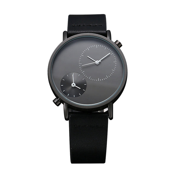 Illusive Design Leather Wrist Watches