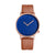 Facet Patterned Modern Watch