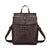Crocodile Embossing Faux Leather Convertible Backpack