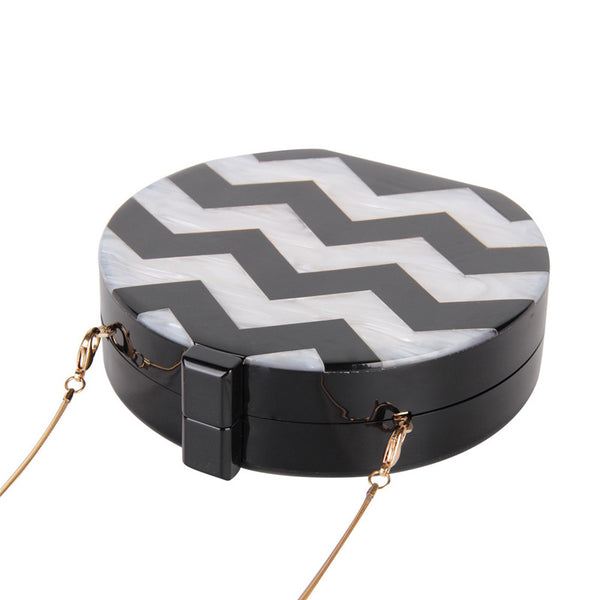 Cute Round Shape Women Clutch