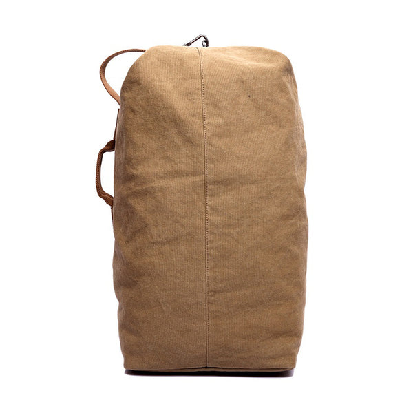 Vintage Canvas Duffel Backpack