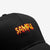 Fiery Embroidery Street Baseball Cap