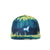 Whimsical Watercolor Print Snapback