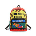 French Fries Printed Backpack