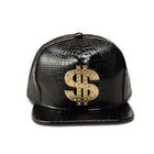 Faux Leather $ Snapbacks