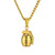 Hiphop Hand Grenade Pendant With Cuban Link Chain