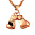 Hip Hop Boxing Gloves Necklace