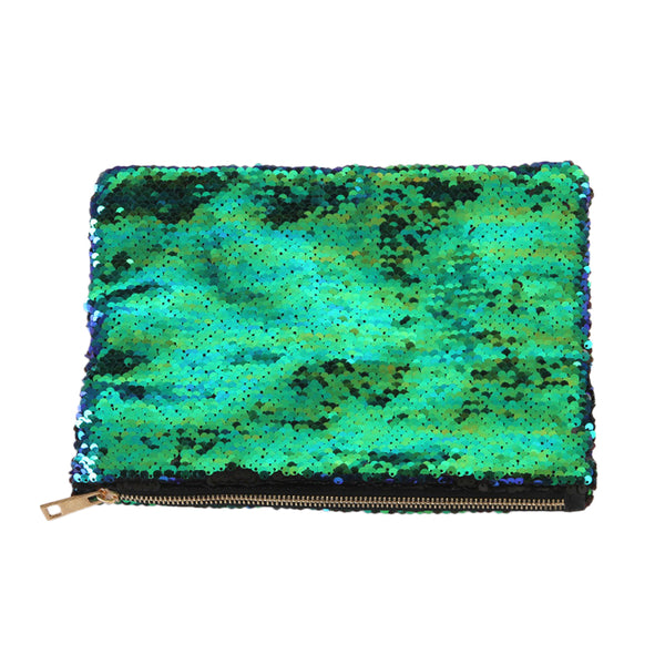 Colour Changing Mermaid Sequin Pouch
