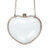 Transparent Heart Shaped Chain Bag
