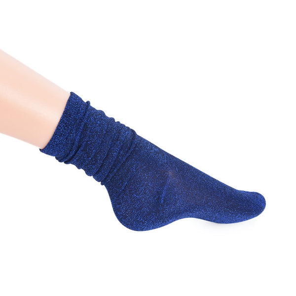 Shiny Glitter Socks Womens