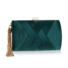 Pleated Classic Clutch