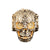 Mexican Engraved Skull Ring