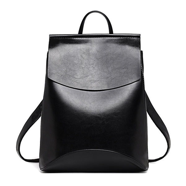 Youthful Leather Backpack