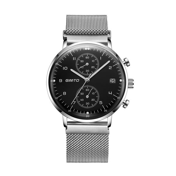 Luxury Waterproof Steel Wrist Watch