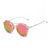 Detachable Retro Mirrored Lens Sunglasses