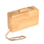 Beautiful Wooden Clutch Bag