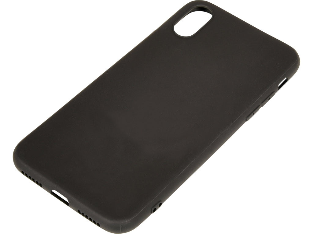 Black silicon case