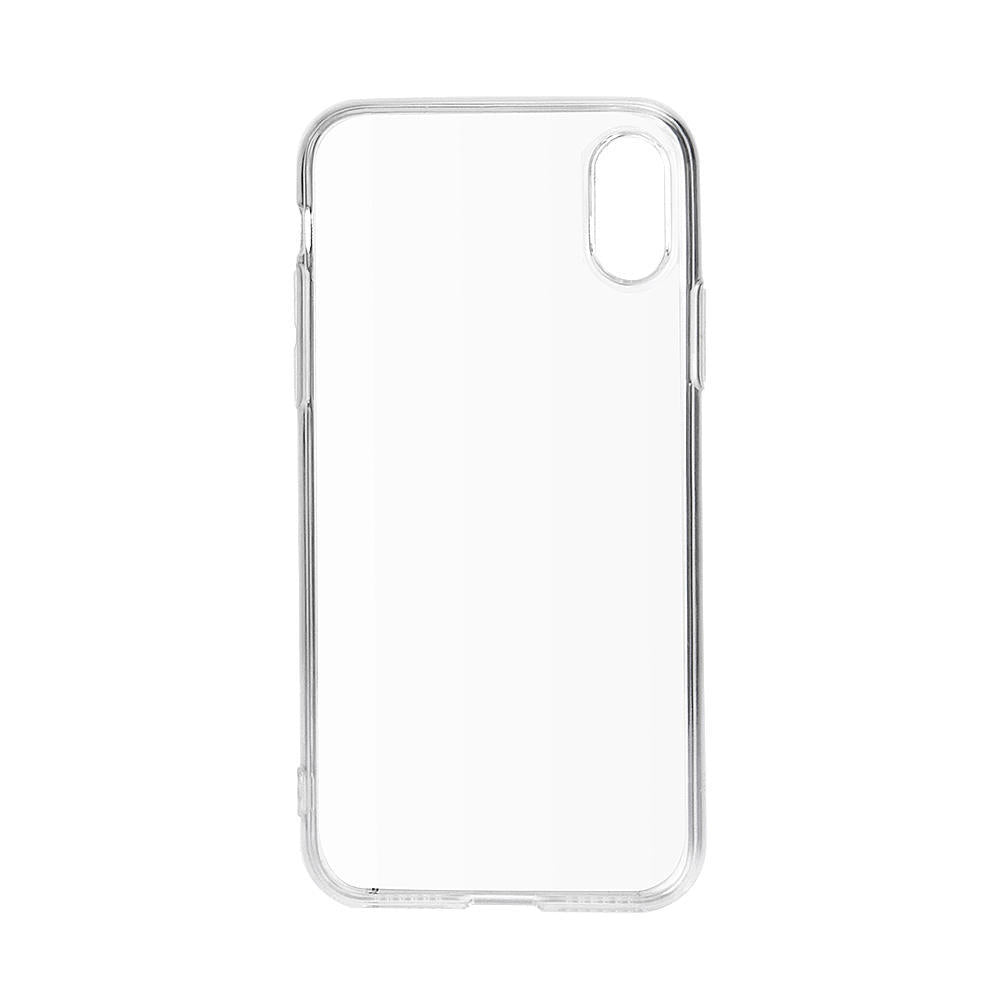 Transparent silicon case