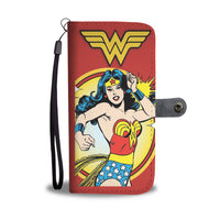 DC COMIC WONDER WOMAN WALLET CASE FOR SELECT MOBILE PHONES