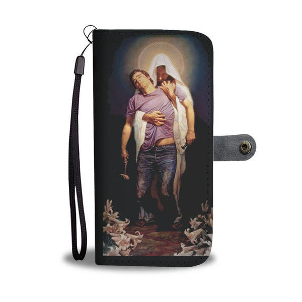 THE FORGIVEN BY THOMAS BLACKSHEAR CELL PHONE WALLET CASE FOR SELECT MOBILE PHONES