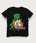 LEPRECHAUN ST PATRICKS PATTYS DAY VOMIT PUKE HIGH QUALITY SHIRT