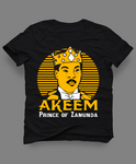AKEEM PRINCE OF ZAMUNDA MOVIE MASHUP CUSTOM ART SHIRT