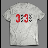 3 UP 3 DOWN PITCHER STRIKE OUT BASEBALL SHIRT