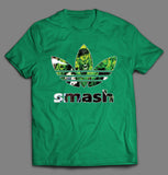 INCREDIBLE HULK SMASH COMIC BOOK ART SPORT SHIRT