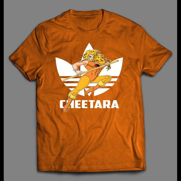 SPORTS WEAR MASHUP THUNDERCAT CHEETARA CUSTOM ART SHIRT - Old Skool Shirts