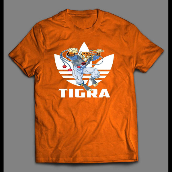 SPORTS WEAR MASHUP THUNDERCAT TIGRA CUSTOM ART SHIRT - Old Skool Shirts