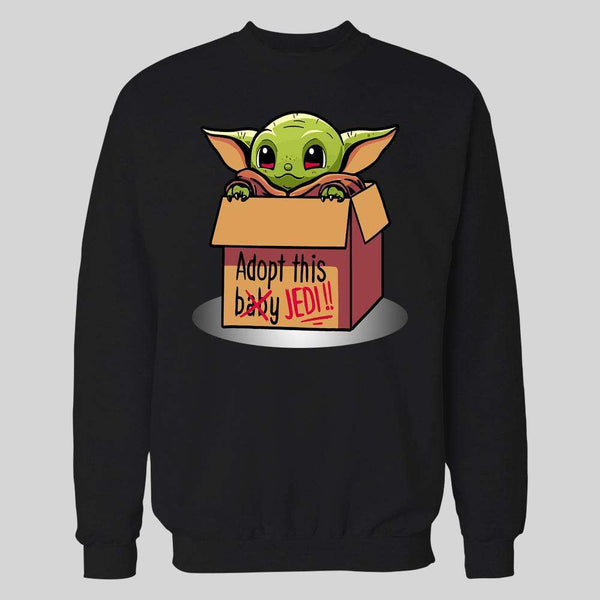 ADOPT A STAR BABY ALIEN HOODIE /SWEATER